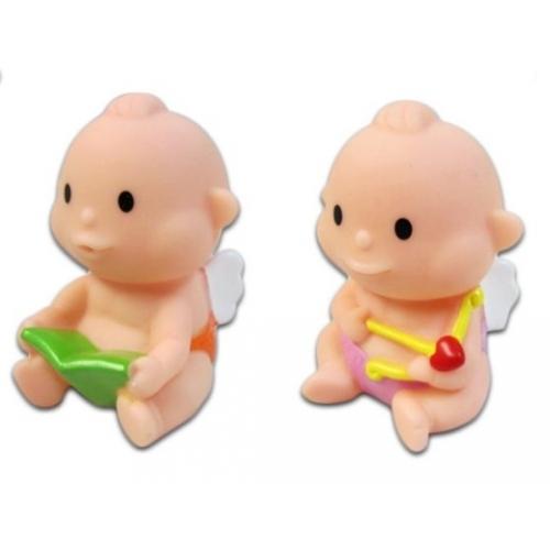 Жирафики Набор для ванной АнгелочкиНабор для ванной АнгелочкиЖирафики 681054 Набор Ангелочки.   В наборе фигурки ангелочков.  Игрушки из ПВХ идеально подойдут для сюжетно-ролевых и развивающих игр, безопасны для здоровья, не сломаются и не разобьются.  Играя, ребенок развивает воображение, познавательное мышление и мелкую моторику рук.  В комплекте 2 игрушки.<br>