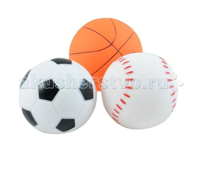 Жирафики Набор МячикиНабор МячикиЖирафики 681058 Набор Мячики.   В наборе три мячика.  Игрушки из ПВХ идеально подойдут для сюжетно-ролевых и развивающих игр, безопасны для здоровья, не сломаются и не разобьются.  Играя, ребенок развивает воображение, познавательное мышление и мелкую моторику рук.  Размер упаковки: 110x55x190 мм Диаметр мячика: 6 см  В комплекте 3 игрушки.<br>