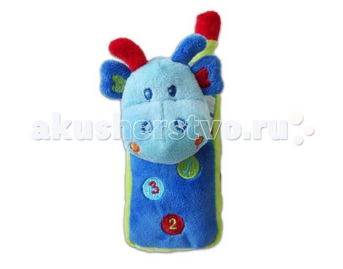 Развивающая игрушка Жирафики Динозаврик-телефон 939290Динозаврик-телефон 939290Развивающая игрушка Жирафики 939290 Динозаврик-телефон - это игрушка для самых маленьких.   Игрушечный телефончик легко поместится в детской ладошке.  Если нажать на цифры, то послышится звук звонящего телефона.   Играя, ребенок развивает слух, тактильные ощущения и мелкую моторику рук.<br>