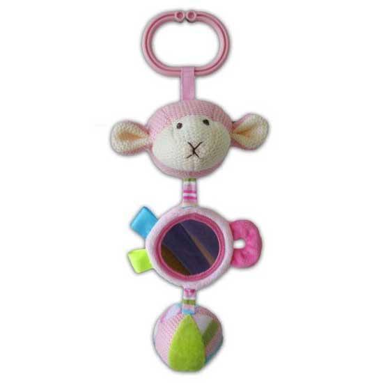 Подвесная игрушка Жирафики Овечка с зеркалом