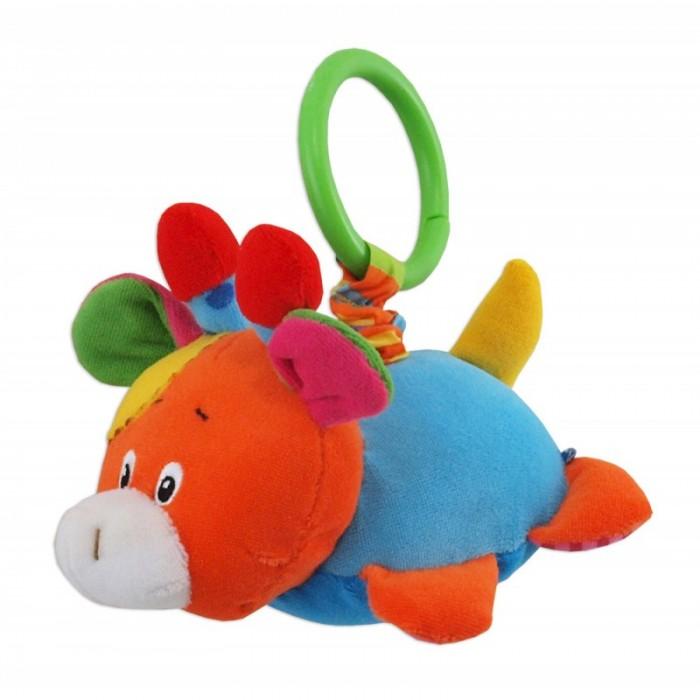Подвесная игрушка Baby Mix Жирафик с вибрациейЖирафик с вибрациейЯркая и милая игрушка с вибрацией Жирафик станет вашим незаменимым помощником во время прогулок с ребенком. Сочные цвета, разнообразная текстура и наполнители подвески надолго захватят внимание вашего малыша. Эта забавна игрушка поможет не просто развлечь ребенка, но и развить различные навыки.  Особенности: универсальный зажим позволяет легко крепить игрушку к коляскам, а также к детским кроваткам, развивающим коврикам и автомобильным креслам игрушка вибрирует при растягивании подвеска изготовлена из материалов различной текстуры, что положительно воздействует на тактильные ощущения вибрация, которую издает подвеска, развивает мелкую моторику и двигательные навыки насыщенные цвета игрушки способствуют развитию цветового восприятия ребенка<br>