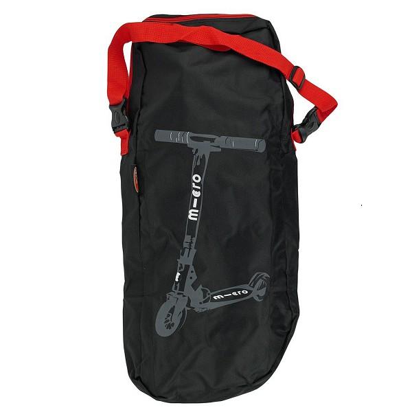 Аксессуары для велосипедов Micro Сумка (малая) для переноски самоката Scooter Bag Red Straps