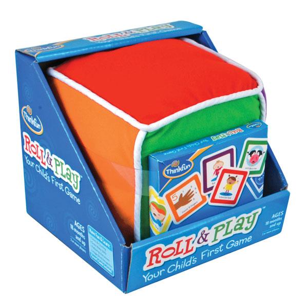 Thinkfun Игра-головоломка Кубик-УмникИгра-головоломка Кубик-УмникThinkfun Игра-головоломка Кубик-Умник - простая игра, с которой вы будете весело проводить время с ребёнком. Объясните ребёнку простые и весёлые правила и, играя, обучайте его цвету, счёту, звукам животных и многому другому. Вдохните в игру весь свой творческий потенциал и радуйстесь вместе с ребёнком!  Подсказки действия на карточках написаны на русском языке. Карточки логической игры Кубик-Умник удобно хранить в специальном кармашке на одной из сторон кубика.  Игрушка Кубик-Умник награждена многочисленными наградами  Правила игры: Кубик Умник - первая логическая игра когда-либо разработанная специально для малышей! Чтобы играть в неё, просто кидайте большой плюшевый куб и определяйте, стороной какого цвета он упадет вверх Из набора карточек, входящих в набор игрушки Кубик-Умник, выберите карточку соответствующего цвета и выполните с ребёнком простые действия, нарисованные на карточке Карточки содержат очень простые задания, такие как: Спой песенку, Станцуй, Найди соответствующий цвет, Какая цифра нарисована, Пролай как собачка, Давай обнимемся, Улыбнись, Взмахни руками и другие, которые малышу будет легко выполнять Глядя на рисунок, малыш должен будет определить, какое действие он должен выполнить Карточки делятся на 6 цветов - каждый цвет обозначает, какого рода действия должен выполнить ребёнок. Например, на карточках зелёного цвета нарисованы животные, голоса которых должен воспроизвести ребёнок. На карточках коричневого цвета нарисованы цифры и подсказки, какая цифра нарисована и т.д.  Игра в Умный Кубик научит ребёнка логически определять задания по картинкам, нарисованным на карточках, а также поможет ему определять, сопоставлять и изучать названия цвета, цифр, названия животных и многое другое.  В комплекте:  Большой плюшевый кубик: 1 шт Цветные карточки с заданиями: 48 шт (8 шт в каждой категории) Инструкции и рекомендации для родителей<br>