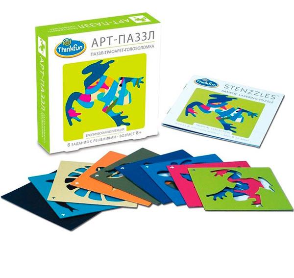 Настольная игра Тропическая коллекция. Арт-пазл. Игра-головоломка