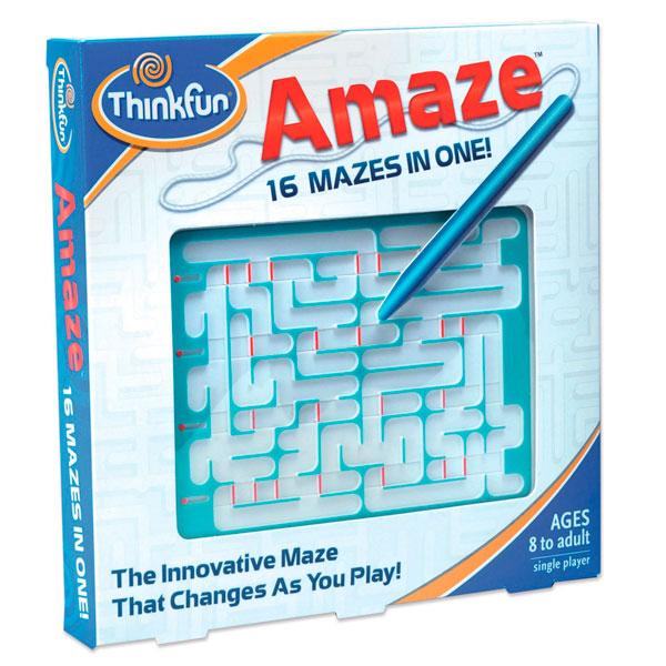 Игры для школьников Thinkfun Игра-головоломка Лабиринт Amaze