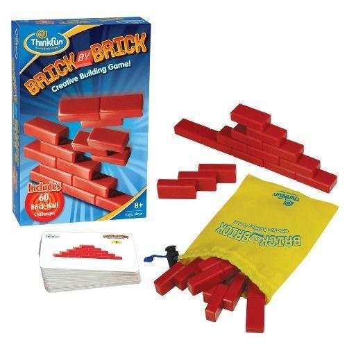 Игры для школьников Thinkfun Игра-головоломка Кирпичики Brick by Brick