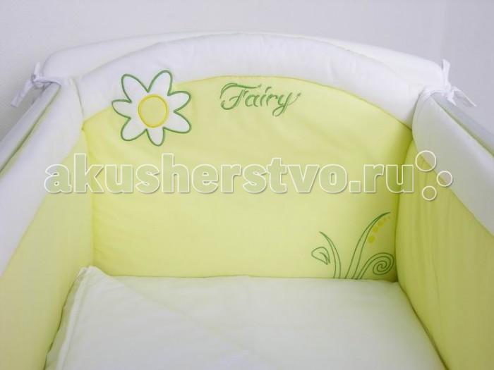 Бампер для кроватки Fairy На лугу