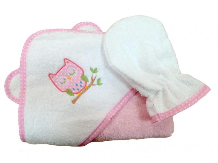Фея Комплект для купанияКомплект для купанияНабор состоит из полотенца с капюшоном, варежки для купания и полотенчика.  Мягкая рукавичка заменит мочалку в первые месяцы жизни.  Кожа малыша такая тонкая, почти прозрачная. Для её очищения достаточно протереть малыша этой нежной варежкой.  А когда накупанный и довольный кроха покинет ванную, закутайте его в это мягкое полотенце, чтобы сохранить тепло.  Материал - 100% хлопок  Габариты и вес (в упаковке): (ДхШхВ) – 57 х 40 х 23 см Вес - 0,25 кг - полотенце с капюшоном (75 х 75 см), - рукавичка (24 х 16 см),  Цвета в ассортименте.<br>