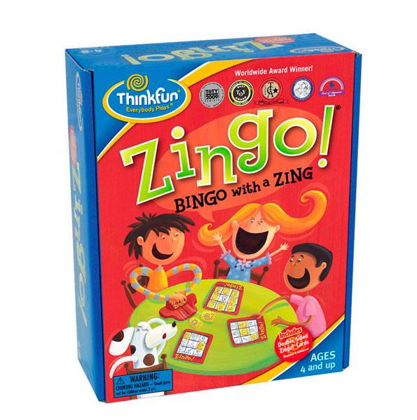 Игры для школьников Thinkfun Игра-головоломка Детское лото Обучай-ка