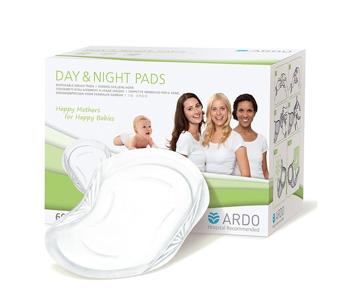 Ardo Одноразовые прокладки для бюстгальтера Day&Night Pads 60 шт