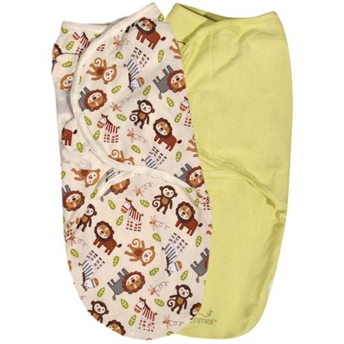 Пеленка Summer Infant Swaddleme Конверт для пеленания на липучке (р-р S/M) 2 шт