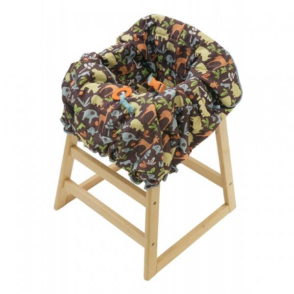 Вкладыши и чехлы для стульчика Infantino Накидка на сиденья Африка