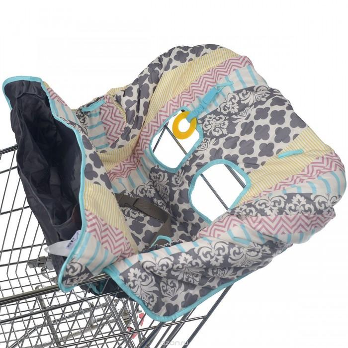 Вкладыши и чехлы для стульчика Infantino Накидка на сиденья Уютный уголок