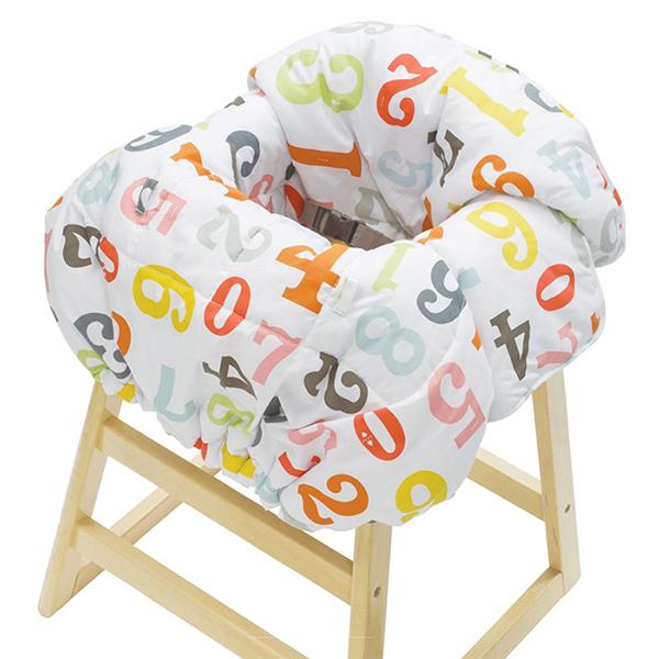 Вкладыши и чехлы для стульчика Infantino Накидка на сиденья Облако цифр