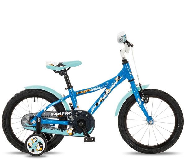 Двухколесные велосипеды Superior Penguin 16