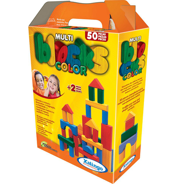 Конструктор Xalingo 50 деталей50 деталейДеревянный конструктор для игр детей младшего возраста  конструктор изготовлен из натурального дерева, окрашен нетоксичными красками на водной основе игры с конструктором тренируют мелкую моторику, укрепляют память, развивают фантазию и пространственное мышление в комплекте 50 разноцветных деталей различных геометрических форм товар сертифицирован<br>