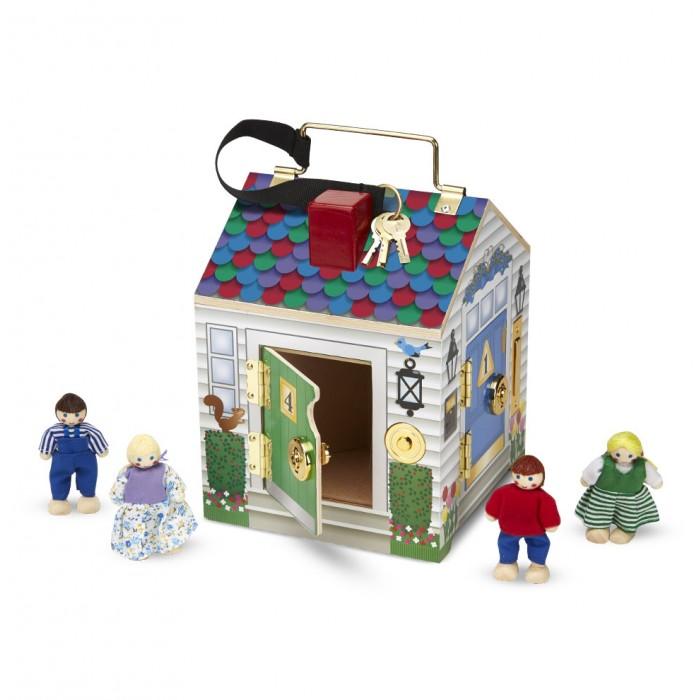 Melissa & Doug Кукольный домик с замками