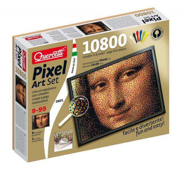Quercetti Пиксельная мозаика Джоконда (10800 элементов)