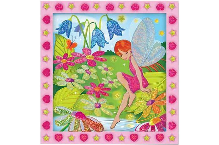 Melissa &amp; Doug Мозаика Цветочный садМозаика Цветочный садМозаика Melissa & Doug Цветочный сад - развивает не только мелкую моторику рук, фантазию, но и зрительную память.  С помощью цветных блестящих пронумерованных наклеек, Ваш ребенок сможет создать картину.<br>