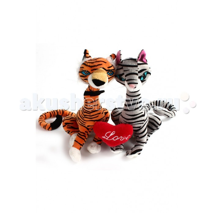 Мягкая игрушка Fluffy Family Влюбленная пара с сердцем 29 смВлюбленная пара с сердцем 29 смТрогательные котики озвученные станут прекрасным подарком и ребенку, и близкому человеку. Игры с мягкими игрушками полезны для эмоционального развития ребенка. Ведь такая игрушка - это еще и верный друг, которому ребенок доверяет свои тайны и секреты.  Психологи советуют - если ребенок отправляется впервые в детский сад, пусть возьмет с собой любимую мягкую игрушку, которая будет напоминать ему о доме. С таким другом легче успокоиться и адаптироваться к незнакомой обстановке.  Играя с мягкой игрушкой, ребенок становится увереннее, учится сопереживанию и сочувствию.  Мягкая игрушка наполнит мир вашего малыша приятными ощущениями и положительными эмоциями. Способствует развитию воображения и тактильной чувствительности у детей.  Качество подтверждено сертификатами соответствия.  Изготовлено из гипоаллергенных материалов.  Размер игрушки: 29 см.<br>