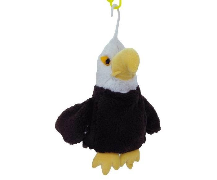 Мягкая игрушка Fluffy Family Игрушка-перчатка Орел озвученный 20 см