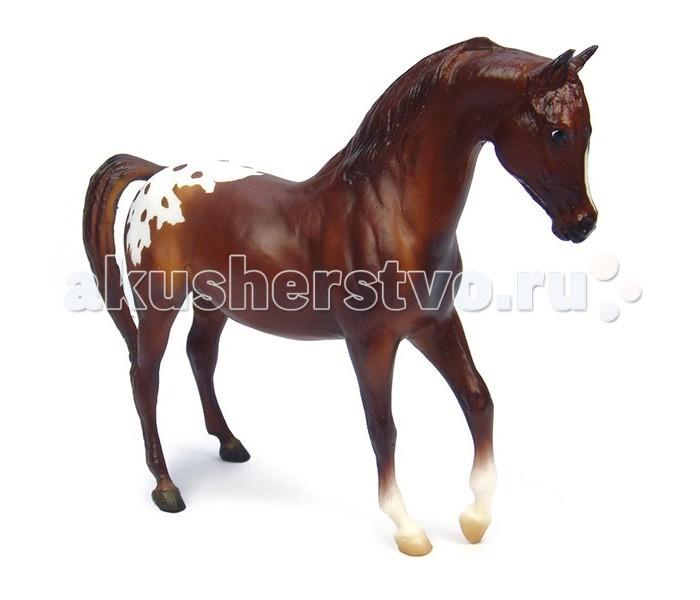 Breyer Лошадь аппалуза гнедаяЛошадь аппалуза гнедаяВсе лошади серии Classic являются игровыми моделями. Данная серия познакомит ребенка с многообразием лошадиных пород и мастей.   На данный момент продукты компании Breyer являются самыми реалистичными копиями лошадей благодаря точности линий, проработке мелких деталей и ручной росписи. Все это позволяет сделать каждую лошадь особенной и абсолютно не похожей на других.   Лошадь аппалуза известна своей уникальным пятнистым окрасом, который представлен во многих моделях. Они выносливы, зарекомендовали себя как замечательные верховые и упряжные лошади. Эта модель достоверно проработана и расписана вручную, и идеально подходит для молодых коллекционеров!   Масштаб 1:12   Размеры модели лошади ДхВ - 23х15 см   Лошадь упакована в красивую коробку. Изготовлена из высококачественного материала, абсолютно безопасна в использовании, рекомендована детям от 4-х лет.<br>