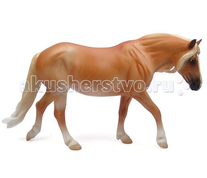 Breyer Лошадь хафлингерЛошадь хафлингерВсе лошади серии Classic являются игровыми моделями. Данная серия познакомит ребенка с многообразием лошадиных пород и мастей.   На данный момент продукты компании Breyer являются самыми реалистичными копиями лошадей благодаря точности линий, проработке мелких деталей и ручной росписи. Все это позволяет сделать каждую лошадь особенной и абсолютно не похожей на других.   Модель лошади Хафлингер познакомит ребенка с одной из традиционных австрийских пород - хафлингером. Эти невысокие крепкие лошадки рыжей масти с льняными гривой и хвостом давно зарекомендовали себя как замечательные верховые и упряжные лошади.   Масштаб 1:12   Размеры модели лошади ДхВ - 23х15 см   Лошадь упакована в красивую коробку. Изготовлена из высококачественного материала, абсолютно безопасна в использовании, рекомендована детям от 4-х лет.<br>