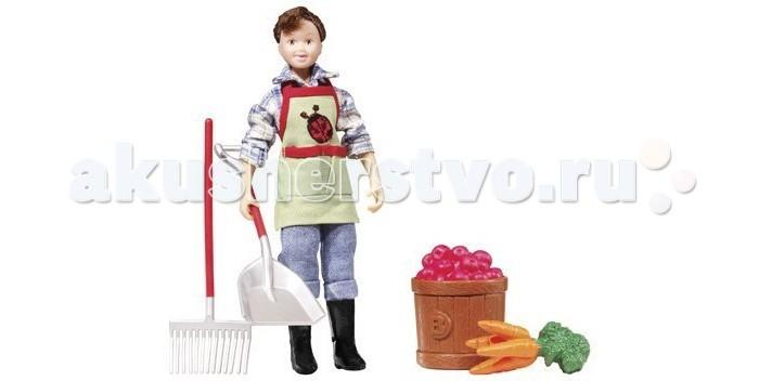 Breyer Набор Кукла Оливия с садовыми аксессуарами
