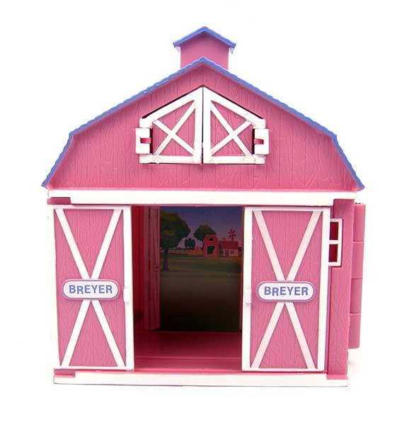 Breyer Конюшня маленькая розовая