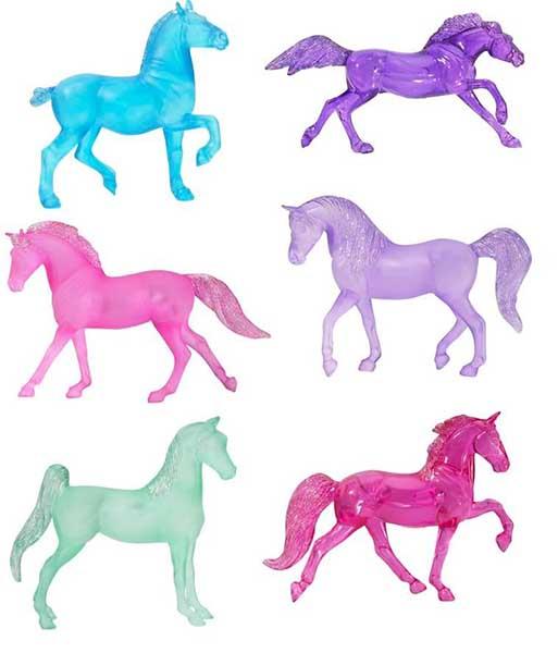 Breyer Лошадки Stablemates цветные в ассортименте