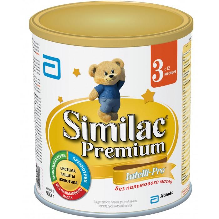 Similac Молочная смесь 3 Premium с 12 мес. 900 г