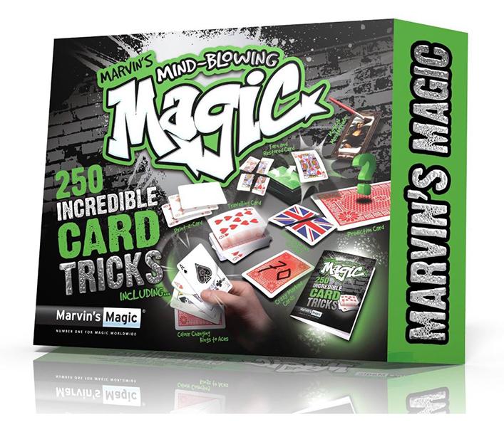 Настольная игра 250 фокусов Невероятные карточные фокусы