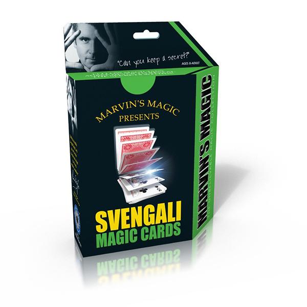 Настольная игра Волшебные карты Свенгали