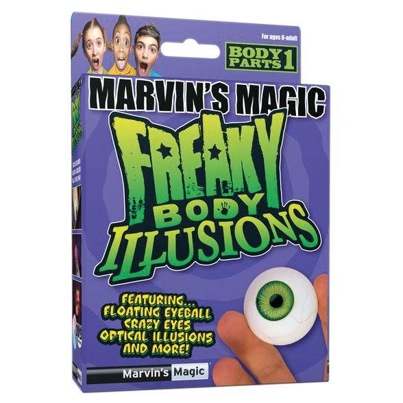 Настольная игра Набор №1 фокусов Смешные ужасы, иллюзии с глазами