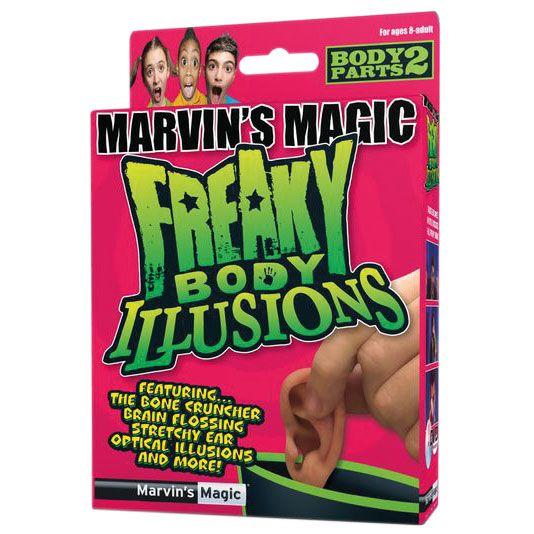 Настольная игра Набор №2 фокусов Смешные ужасы и иллюзии с частями тела