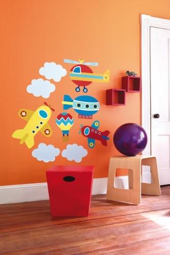 Аксессуары для детской комнаты Wallies Набор наклеек Полетели выше