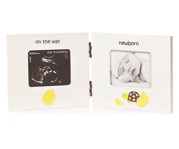 Фотоальбомы и рамки Pearhead Рамочка двойная складная У мамы в животике