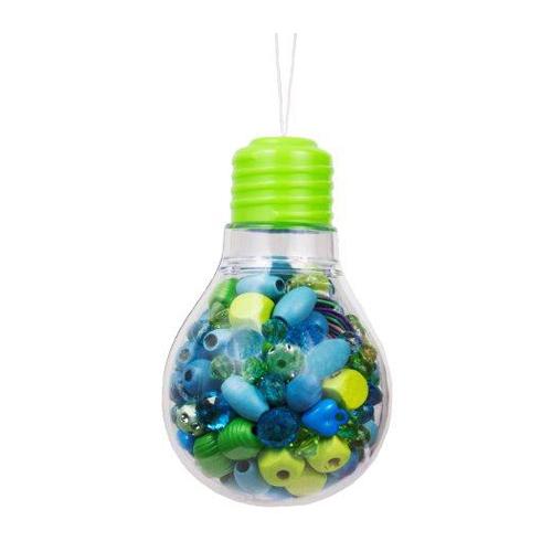 Bead Bazaar Колье Зеленая лампочка 474Колье Зеленая лампочка 474Колье Зеленая лампочка Bead Bazaar 474.   В комплекте: деревянные и пластиковые бусины, хлопковые веревочки.  Инструкция по сборке.   Возраст: для детей от 4 лет Размер: 12,1 х 7,6 х 7,6 см<br>