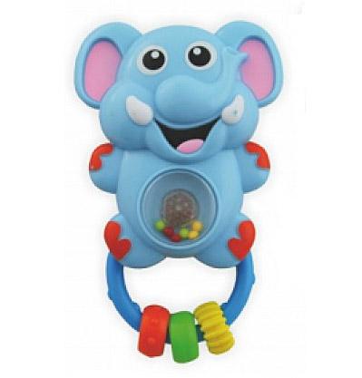 Погремушка Baby Mix музыкальная Слонёнок PL310547Aмузыкальная Слонёнок PL310547AМузыкальная погремушка Baby Mix Слонёнок PL310547A оснащена различными деталями и элементами со звуковыми и световыми сигналами. Такая игрушка заинтересует как малыша, так и ребенка постарше.  Особенности: сделана из прочного, высококачественного материала; сбоку находится небольшая кнопка-переключатель; животик Слоника прозрачный, внутри него разноцветные шарики, создающие шумовой эффект; имеет аккуратные безопасные края; для работы нужны батарейки; детали разных цветов стимулируют развитие зрительных способностей и цветового восприятия; трогая ручками элементы, кроха тренирует пальчики и осваивает хватательный рефлекс.<br>