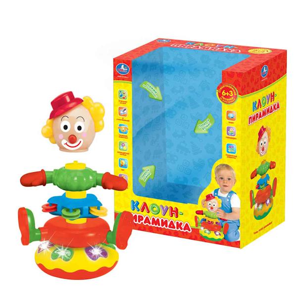 Электронные игрушки Умка Клоун-пирамидка