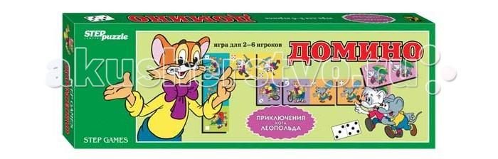 Дрофа Домино Приключения кота Леопольда