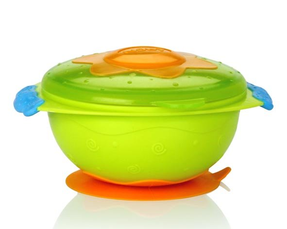 Посуда Nuby Тарелка на присоске для микроволновой печи 5322