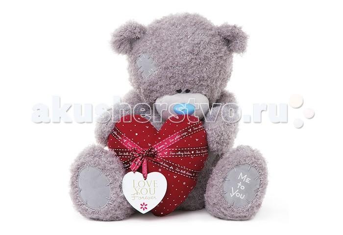 Мягкая игрушка Me to You Мишка Тедди с сердцем 60 смМишка Тедди с сердцем 60 смМягкая игрушка Me to You Мишка Тедди с сердцем – самый лучший подарок как для ребенка, так и для взрослого! Забавная игрушка сделана из приятного и очень мягкого плюша, безвредного для малыша. С такой милой игрушкой можно смело засыпать в кроватке или отправляться на прогулку.   Очаровательный мишка - самый лучший подарок как для ребенка, так и для взрослого!<br>