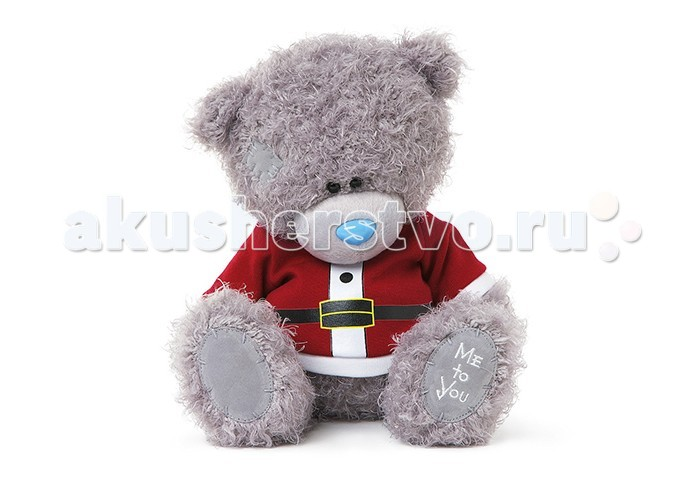 Мягкая игрушка Me to You Мишка Тедди Санта 25 смМишка Тедди Санта 25 смМягкая игрушка Me to You Мишка Тедди Санта – самый лучший подарок как для ребенка, так и для взрослого! Забавная игрушка сделана из приятного и очень мягкого плюша, безвредного для малыша. С такой милой игрушкой можно смело засыпать в кроватке или отправляться на прогулку.   Очаровательный мишка - самый лучший подарок как для ребенка, так и для взрослого!<br>