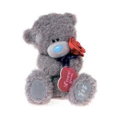 Мягкая игрушка Me to You Мишка Тедди с сердцем и розой 30 смМишка Тедди с сердцем и розой 30 смМягкая игрушка Me to You Мишка Тедди с сердцем и розой – самый лучший подарок как для ребенка, так и для взрослого! Забавная игрушка сделана из приятного и очень мягкого плюша, безвредного для малыша. С такой милой игрушкой можно смело засыпать в кроватке или отправляться на прогулку.   Очаровательный мишка - самый лучший подарок как для ребенка, так и для взрослого!<br>