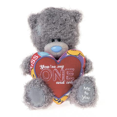 Мягкая игрушка Me to You Мишка Тедди с сердцем Ты только мой 18 смМишка Тедди с сердцем Ты только мой 18 смМягкая игрушка Me to You Мишка Тедди с сердцем Ты только мой – самый лучший подарок как для ребенка, так и для взрослого! Забавная игрушка сделана из приятного и очень мягкого плюша, безвредного для малыша. С такой милой игрушкой можно смело засыпать в кроватке или отправляться на прогулку.   Очаровательный мишка - самый лучший подарок как для ребенка, так и для взрослого! Тедди дарит свою любовь и нежность многим поколениям детей и взрослых, откройте свое сердце для него.<br>