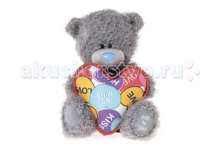 Мягкая игрушка Me to You Мишка Тедди с сердцем G01W3357 18 смМишка Тедди с сердцем G01W3357 18 смМягкая игрушка Me to You Мишка Тедди с сердцем – самый лучший подарок как для ребенка, так и для взрослого! Забавная игрушка сделана из приятного и очень мягкого плюша, безвредного для малыша. С такой милой игрушкой можно смело засыпать в кроватке или отправляться на прогулку.   Очаровательный мишка - самый лучший подарок как для ребенка, так и для взрослого! Тедди дарит свою любовь и нежность многим поколениям детей и взрослых, откройте свое сердце для него.<br>