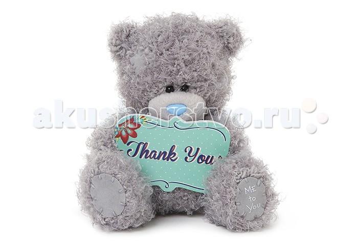 Мягкая игрушка Me to You Мишка Тедди Спасибо тебе 13 смМишка Тедди Спасибо тебе 13 смМягкая игрушка Me to You Мишка Тедди Спасибо тебе – самый лучший подарок как для ребенка, так и для взрослого! Забавная игрушка сделана из приятного и очень мягкого плюша, безвредного для малыша. С такой милой игрушкой можно смело засыпать в кроватке или отправляться на прогулку.   Очаровательный мишка - самый лучший подарок как для ребенка, так и для взрослого! Тедди дарит свою любовь и нежность многим поколениям детей и взрослых, откройте свое сердце для него.<br>