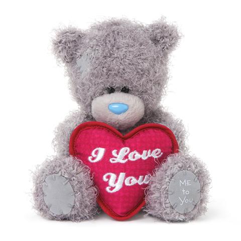 Мягкая игрушка Me to You Мишка Тедди с сердцем Я тебя люблю 13 смМишка Тедди с сердцем Я тебя люблю 13 смМягкая игрушка Me to You Мишка Тедди с сердцем Я тебя люблю – самый лучший подарок как для ребенка, так и для взрослого! Забавная игрушка сделана из приятного и очень мягкого плюша, безвредного для малыша. С такой милой игрушкой можно смело засыпать в кроватке или отправляться на прогулку.   Очаровательный мишка - самый лучший подарок как для ребенка, так и для взрослого! Тедди дарит свою любовь и нежность многим поколениям детей и взрослых, откройте свое сердце для него.<br>
