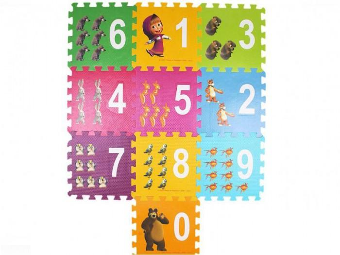 Игровой коврик Играем вместе Маша и Медведь с вырезанными цифрами коврик-пазлМаша и Медведь с вырезанными цифрами коврик-пазлИграем вместе Маша и Медведь с вырезанными цифпами - это уникальный подарок. Во-первых, этот замечательный коврик можно использовать для игр на полу. Он изготовлен из вспененного ПВХ, экологически безопасен и его легко чистить. Во-вторых - это пазл. Коврик состоит из 10 элементов, которые складываются в красивую картинку.<br>